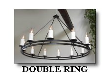 click here for Double Ring 12 Light Chandelier