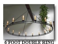 Click Here To Look At My Double Ring 6 Foot Chandelier Page