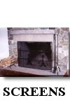 click here for custom wrought iron fireplace screens